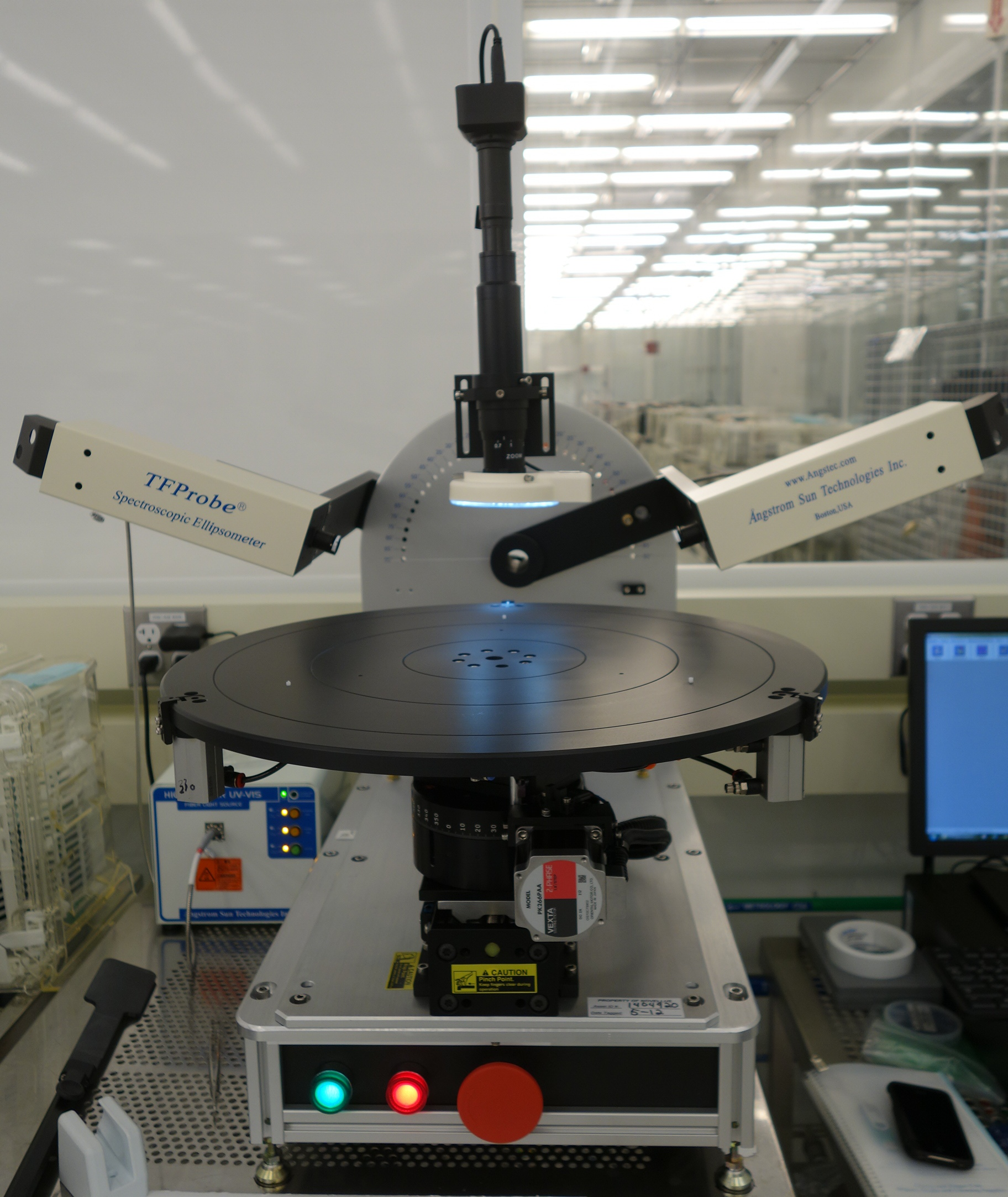 Spectroscopic Ellipsometer for 450mm Wafer Thin Film Thickness Application