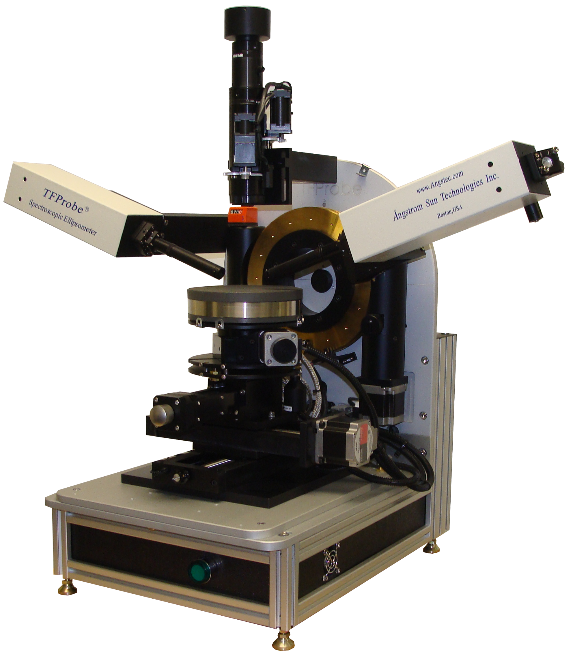 Spectroscopic Ellipsometer for Thin Film Thickness and Refractive Index Measurements